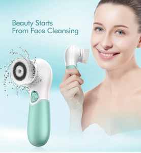 Best Selling good Rechargeable deep pore cleansing facial brush/portable electric face cleanser electronic cleaner made in China