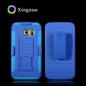 New Products Full Body Protective Holster Clip Case For Nokia 360 Hybrid Phone Cover Kickstand Blue Combo Case For ZTE N800