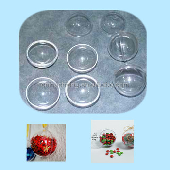 100mm Wholesale Clear Plastic Christmas Ball Ornaments Bulk With ...