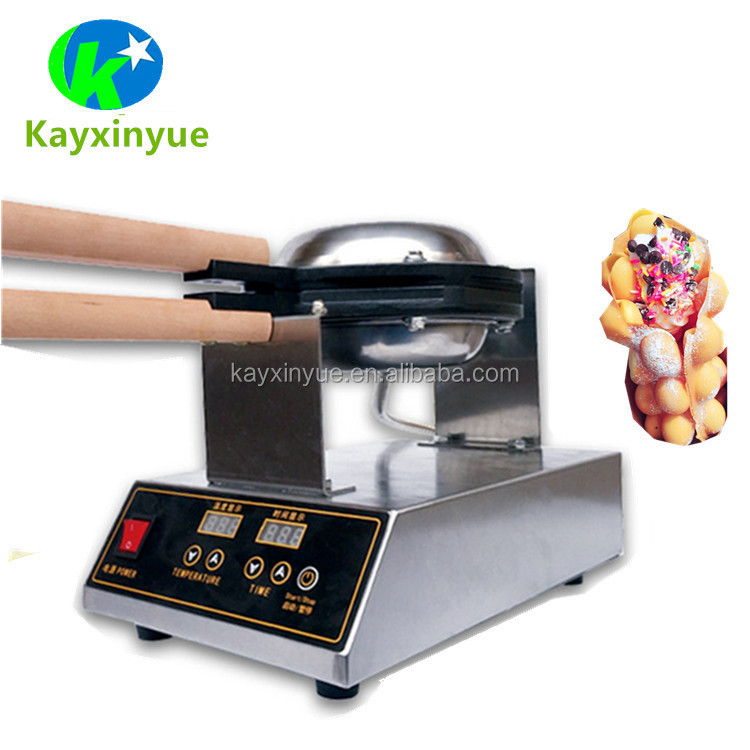 Food Processor commercial electric egg waffle maker custom plate