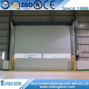 industrial exterior metal rapid roller shutter gate/door