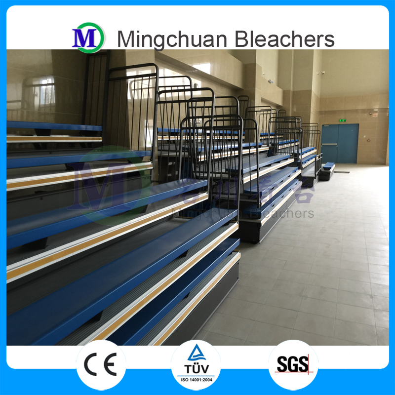 Venus Chinese supplier telescopic bleacher used indoor gym bleachers for sale