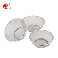 Stainless Steel Strainer Fine Mesh Stainless Steel Strainer Sieve Colander With Stable Base For Kitchen Straining