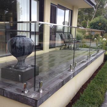 Best Price Balcony Stainless Steel Glass Railings Designs Buy