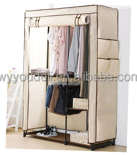 Robe Dubai Bedroom Free Standing Half Height Bedroom Closet Wood Wardrobe  Cabinets