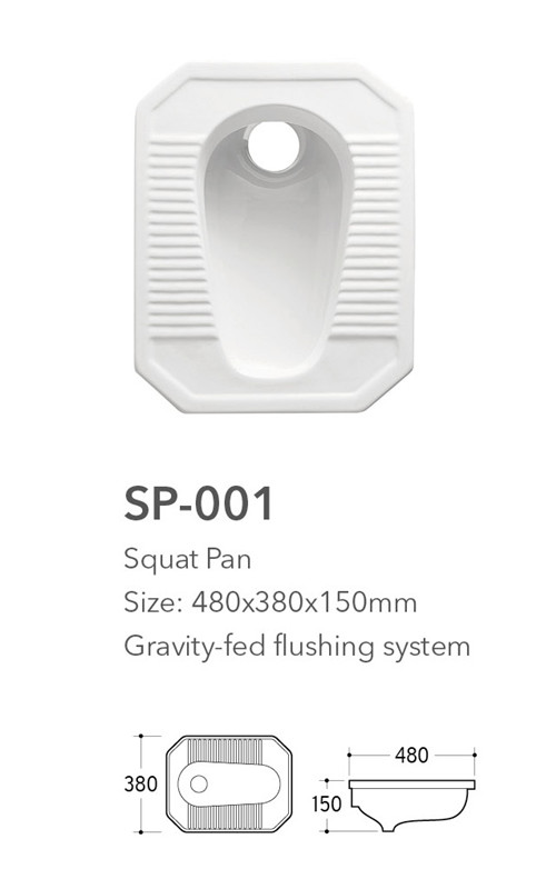 china supplier bathroom sanitary ware deep squat indian toilet pan for sale