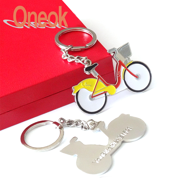 Make Your Own Car Logo Metal 3D Keychain Parts Custom Keyring