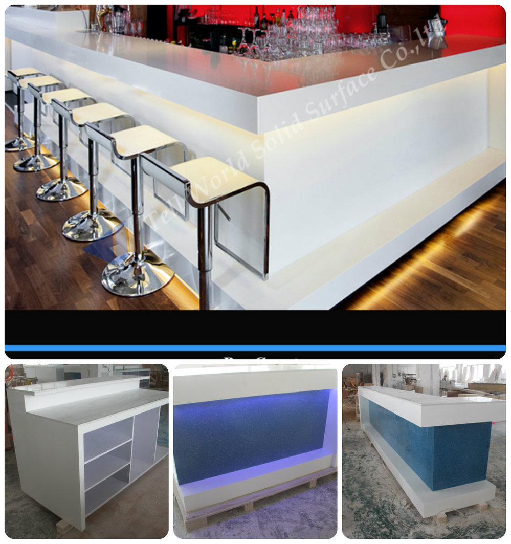 bar portable black decorate indoor table
