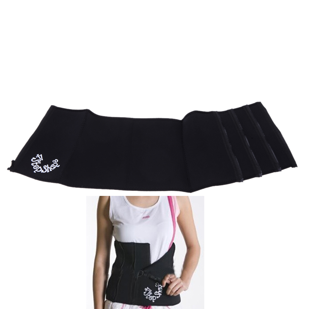 4e5a50ef01 Get Quotations · 4 Steps Waist Slimming Belt Adjustable Girdle Body Shaper  Tummy Slim Shaping Body Shaper Slim Waist