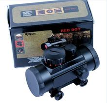 Tactical 1X30 Verde/Red Dot Sight 5 MOA Reticolo Scope w/ 20 millimetri Rail Mount