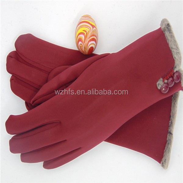 cute winter cotton <strong>gloves</strong> with high quality in 2016/touch screen