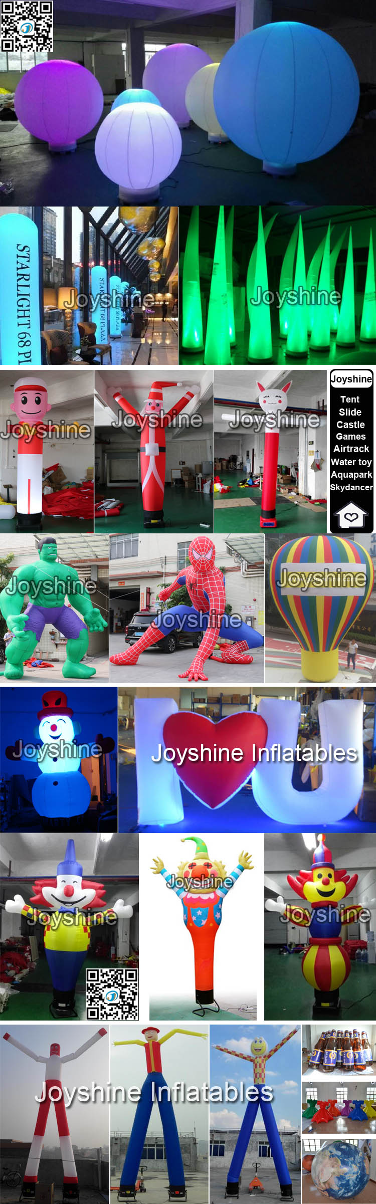 Factory Direct Sells Various Shape Advertising Inflatables Inflatable Dance Star