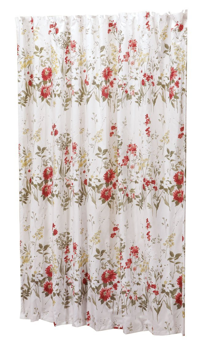 Fox Valley Traders Ruby Meadow Shower Curtain by OakRidgeTM