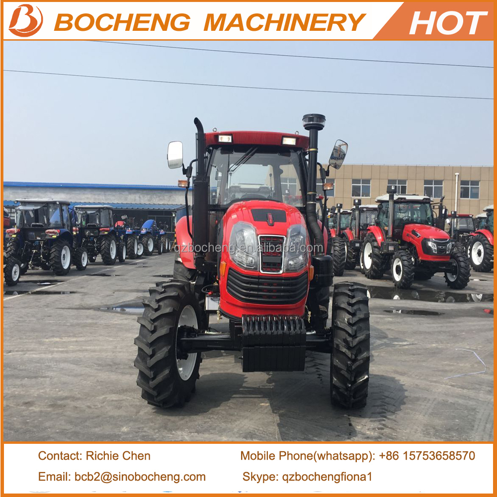 Pasonny Big size farm tractors 130hp made in China with six cylinder