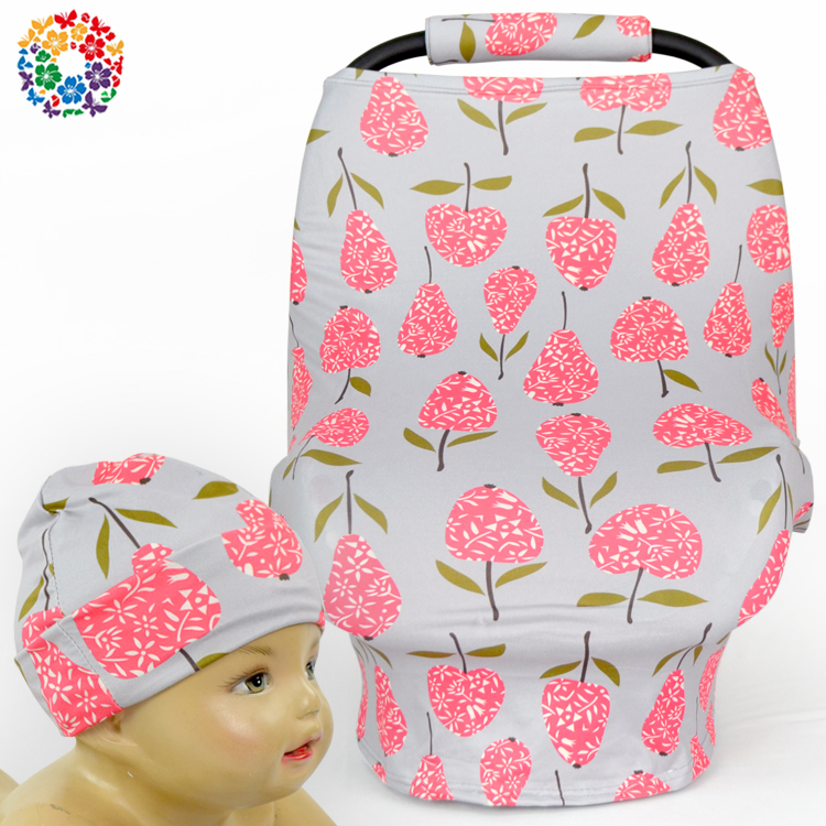 Flower Infant Baby Breastfeeding Canopy Funny Covers 2017 New Design Baby Car Seat Cover