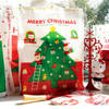 Hot sale for Christmas! Gift packing bags Christmas plastic shopping bag die cut bags