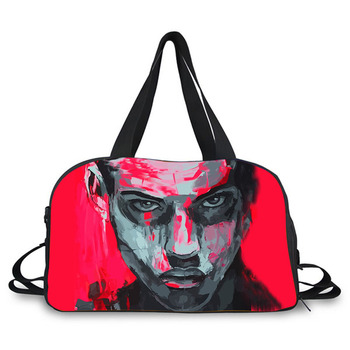 Heather Canvas Custom Duffle Bags 19