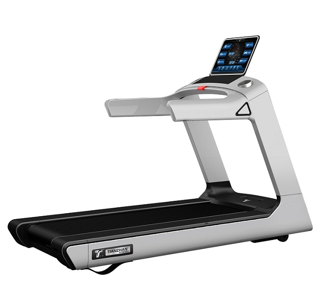 TZ-7000A commercial treadmill for gym fitness equipment 3HP motor running machine touch screen with android, Optional