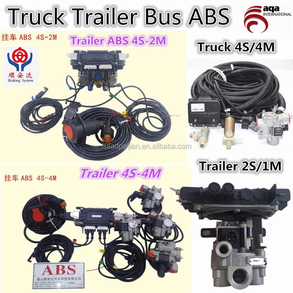 ABS (anti-locked braking system) for truck 2S/1M,6S/