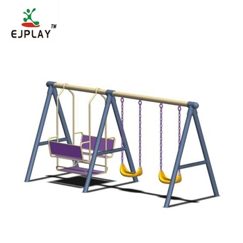 High Standard Playground Outdoor Swing Set For Kids Play