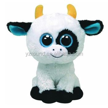 Vaca De Dibujos Animados Sentado Juguete Ojos Grandes Felpa Suave Juguete De Regalo Buy Vaca De Dibujos Animados Sentado Juguete Ojos Grandes Felpa