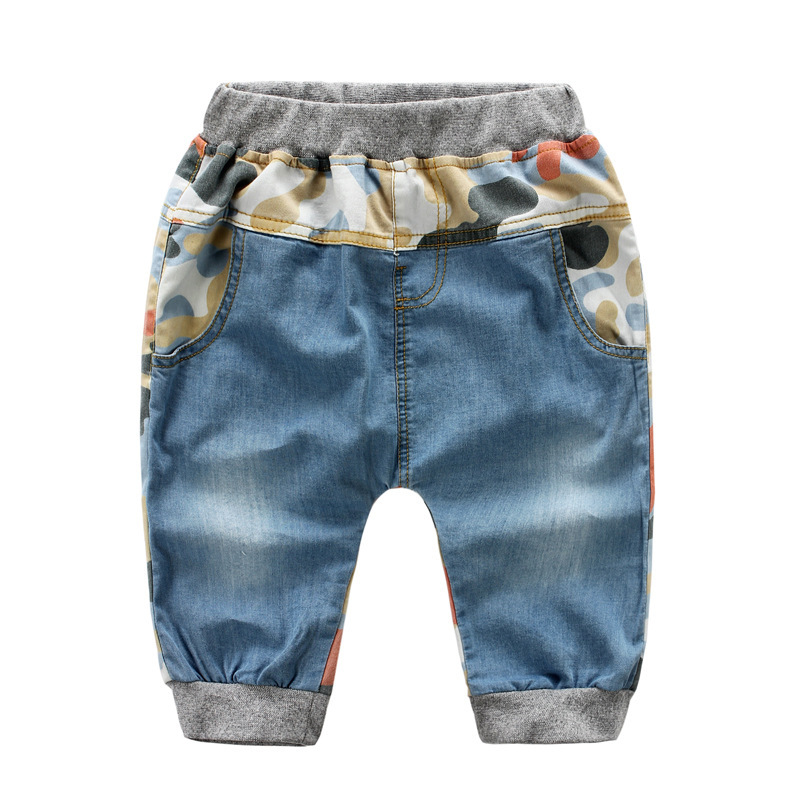 daf71273da2 Get Quotations · Vintage Cropped Trousers Camouflage Boys Jeans Hot Sale  Kids Jeans Nice Gift Baby Girls Pants Jeans