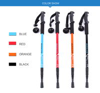 Top Quality Flexible Alpenstock hiking poles