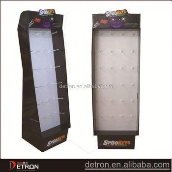 Floor Competitive Keys Ring Cardboard Display Stand Buy