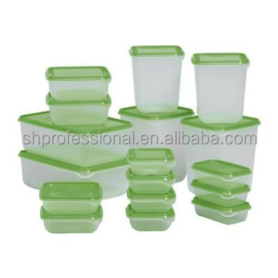 Microwave Safe BPA Free Cookware 17Pcs Plastic Food Storage Container sets