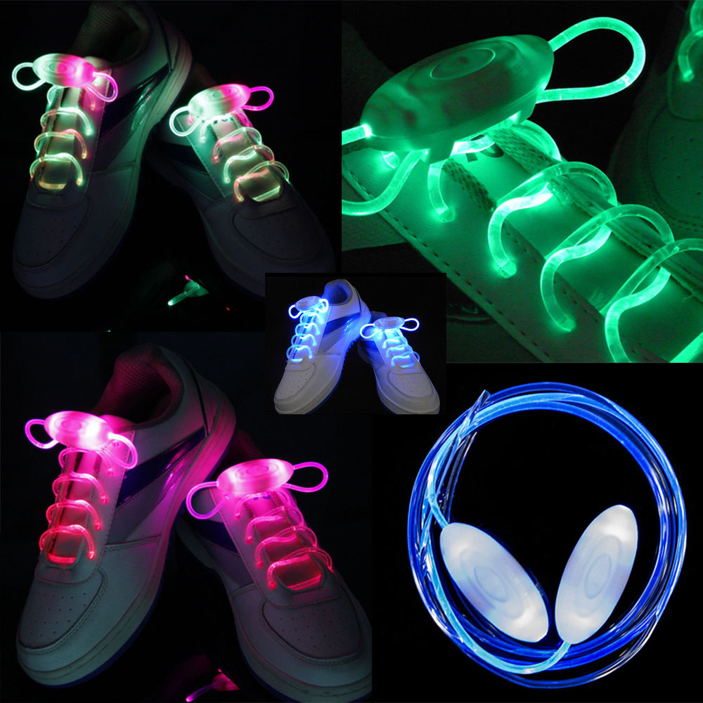 Schnürsenkel Light Disco Flash Up 2 Stücke Led Glow Strap Stick Hot Party kTZuwOPXi