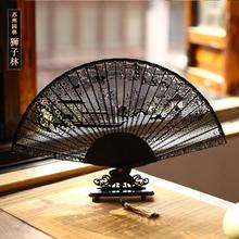 Резной деревянный складной веер, высококачественный китайский вентилятор из сандалового дерева с резным цветком для свадебной коллекции, ...(China)