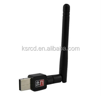 802.11 wifi 150mbps mini wireless usb adapter Wi-Fi Dongle Network LAN Card USB WiFi Wireless Adapter with External Antenna