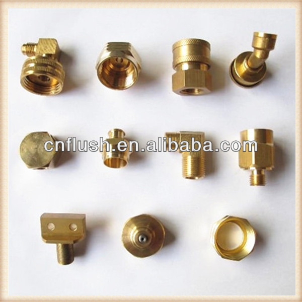 High quality and precision brass bicycle parts