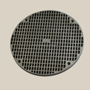OEM Price per Kg Stainless Steel Casting Silica sol Drain Grate for Building Accessories