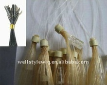 top quality virgin chinese remy human hair micro-ring extension