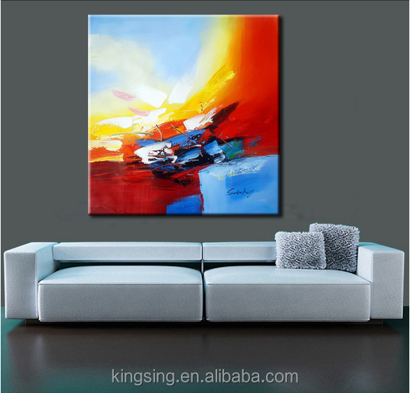 wholesale abstract hotel decoration modern painting canvas art