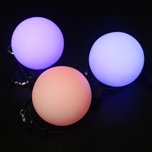 Factory Price High Quality Led Poi Balls Toys/ Fire Poi/ Led Poi With Lanyard