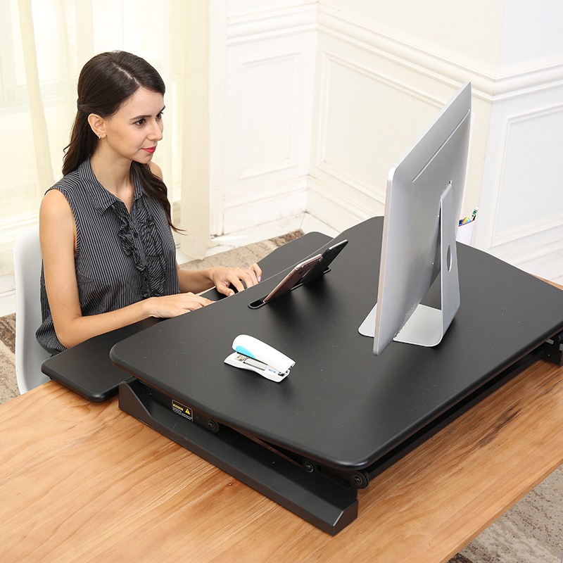 2018 Height Adjustable Laptop Standing Desk Converter Sit