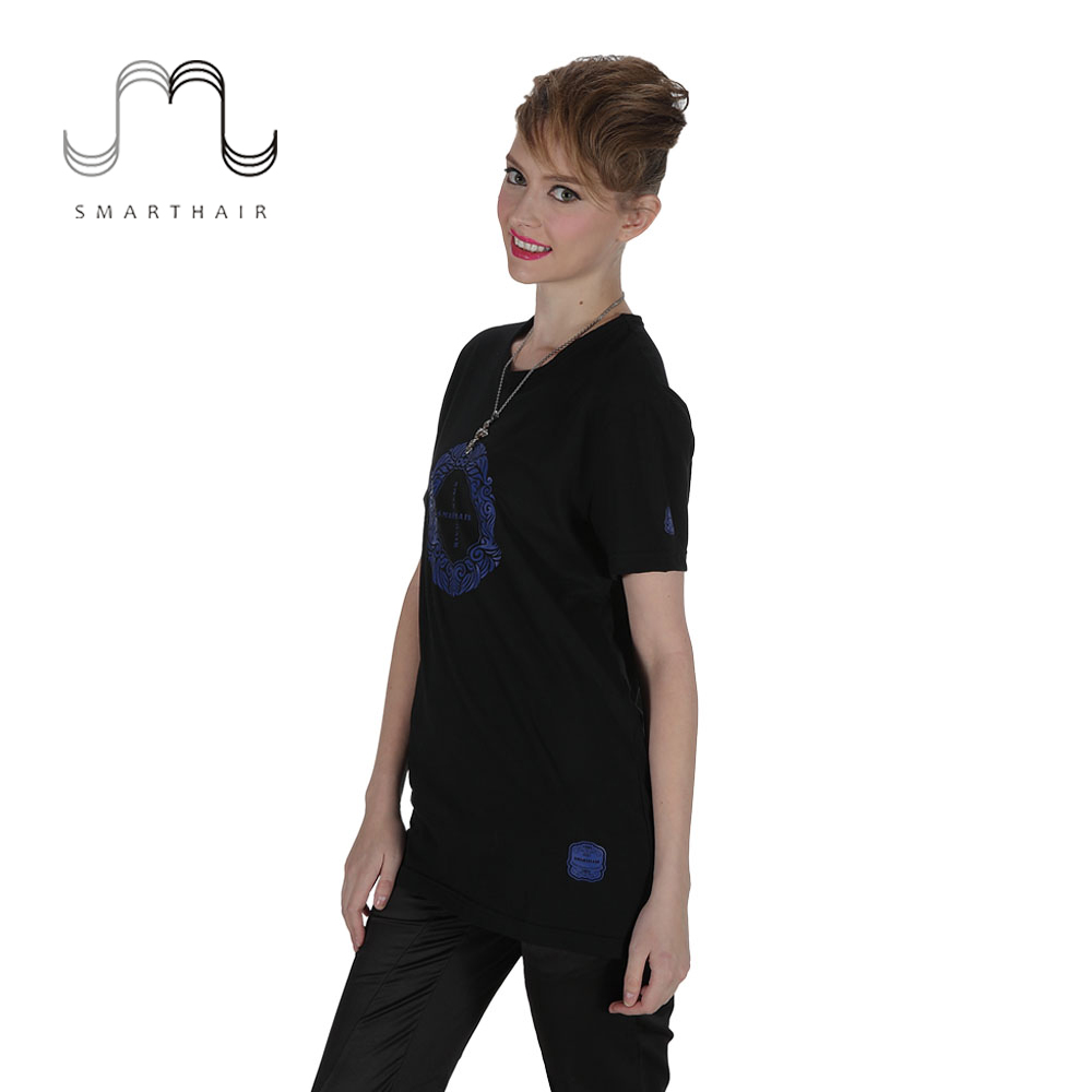 SMARTHAIR T382025FW Promotionele Kantoorpersoneel T Wit Shirt Uniform Outlet Store, Uniform shirt voor kapper