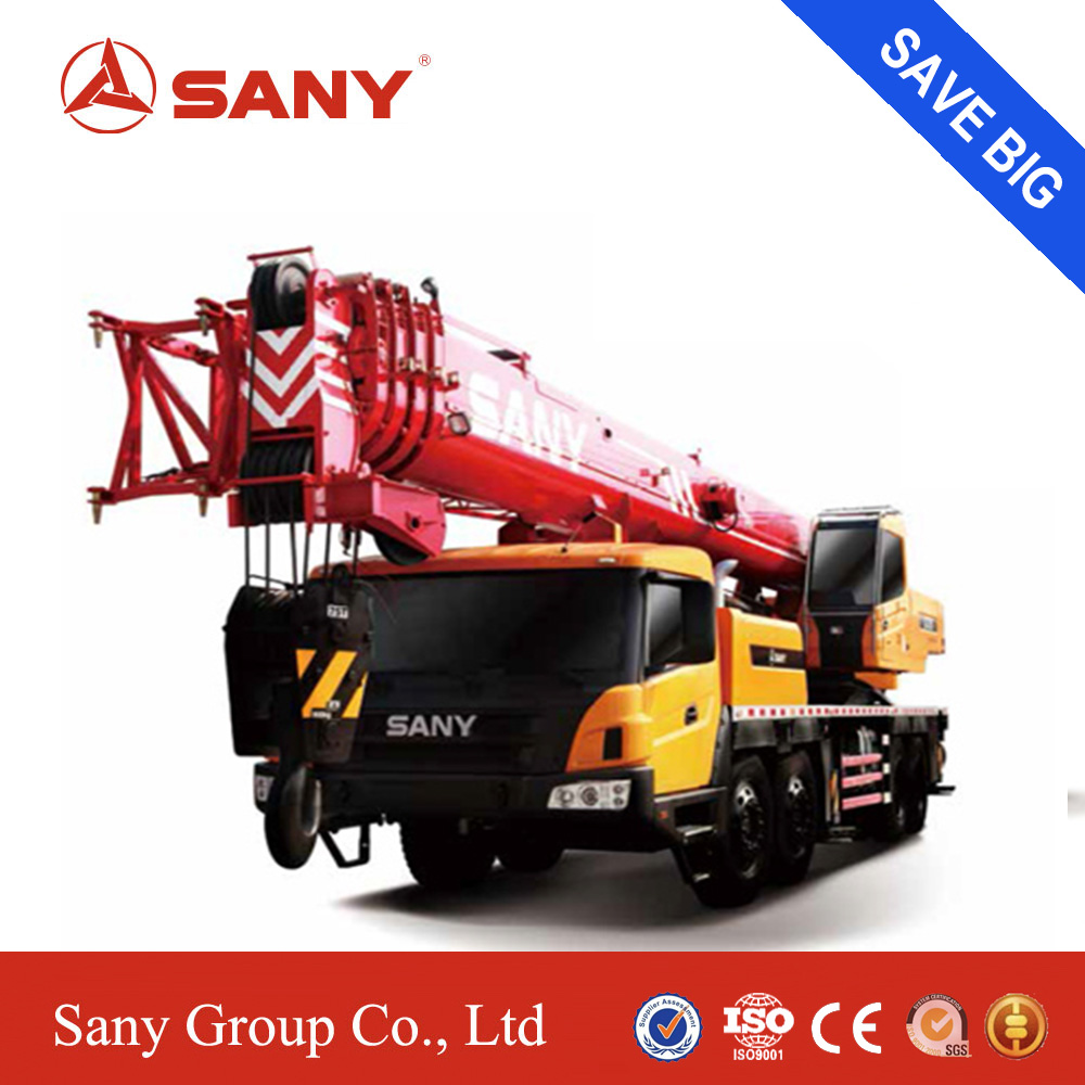 SANY STC750 60 Tons Efficien Unique Steering Buffer Design of Mobile Crane for Sale in Malaysia