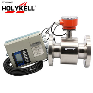 Holykell OEM Low cost electromagnetic water flow meter china