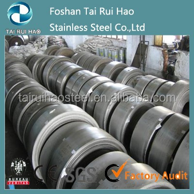 Cold rolled mirror finish stainless steel coil ss201