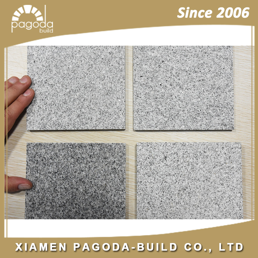 Dalian Grey Granite China Granite Pavers Polished Flamed G603 Tiles