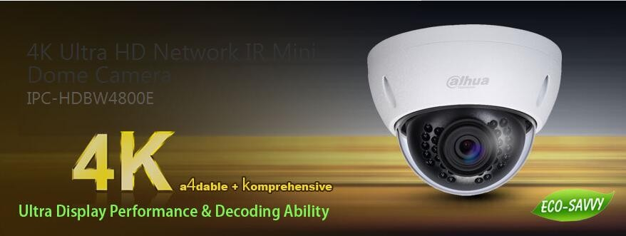Dahua 4k Ultra Hd Network Ir Mini Dome Camera Buy Dahua