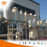 High quality vacuum distillation used oil recycling /waste oil to diesel distillation plant
