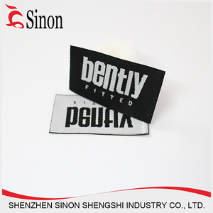 handbag logo clothes fabric clothing labels