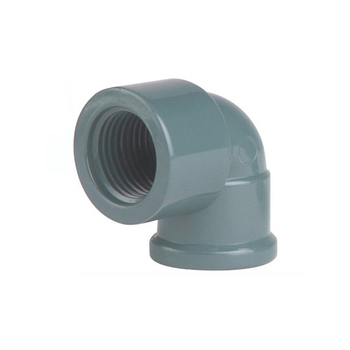 NBR5648 PVC U PVC-U 90 Degree Female Reducing Elbow Pipe Fitting