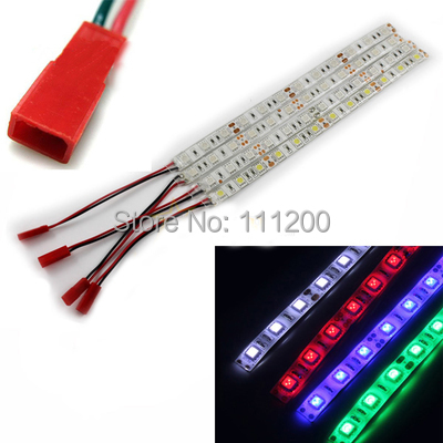 Waterproof LED Light Strips for Multicopter Quadcopter Airplane