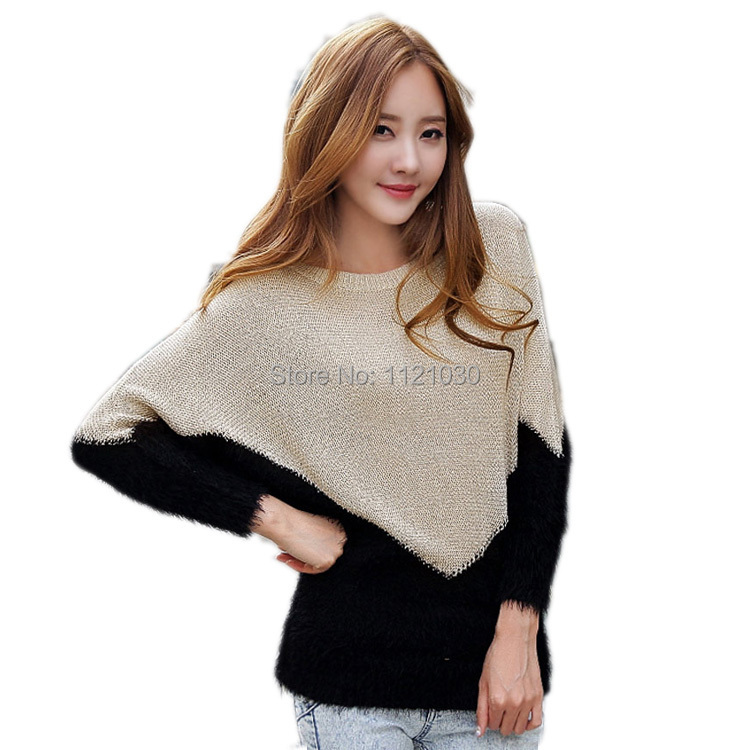 Get Quotations · New Women Casual Long Sleeve Knitted Pullover Autumn  Summer Crochet Cardigasn Sweaters 2015 Women Fashion Blusas 2b6c59ffb