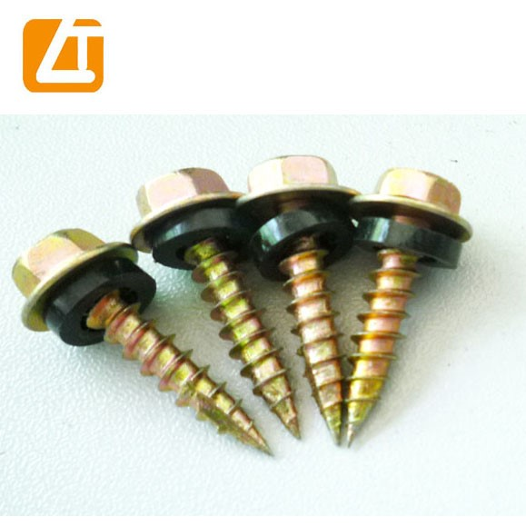 Ral Hex Washer Head Self Drilling Screw With Color Painted